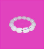 White stone bracelet set of 1