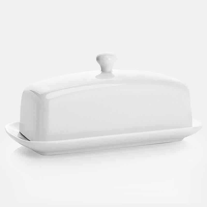 Porcelain Butter Dish with Lid