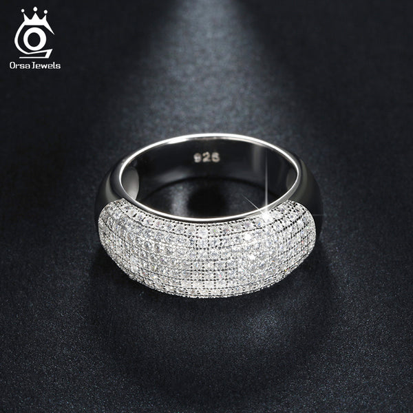 AAA Austrian Crystal Wedding Band
