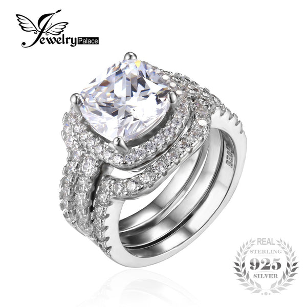 Cushion Cut 5ct Stackable Wedding Band