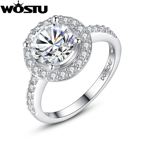 Halo White Gold Wedding Ring