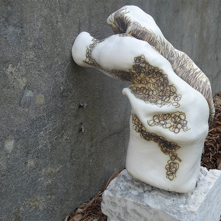 White sculpture