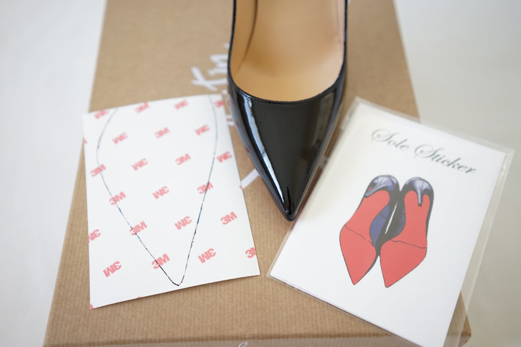 f07356e323d 3M Sole Sticker - Louboutin sole protector to protect your red bottoms –  CoveredSole