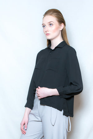 Double Pocket Blouse