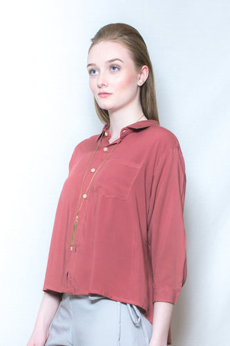 Single Pocket Blouse