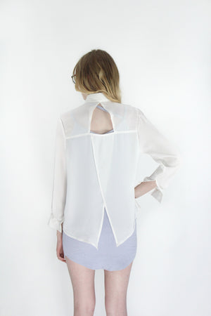 Triangle Cutout Back