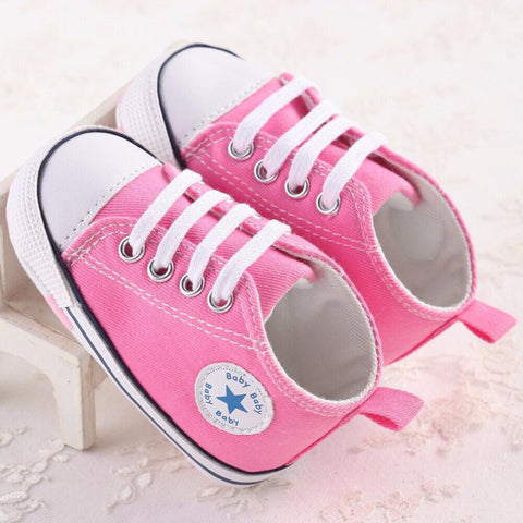 Kids and Babies Canvas Pre Walker Shoes