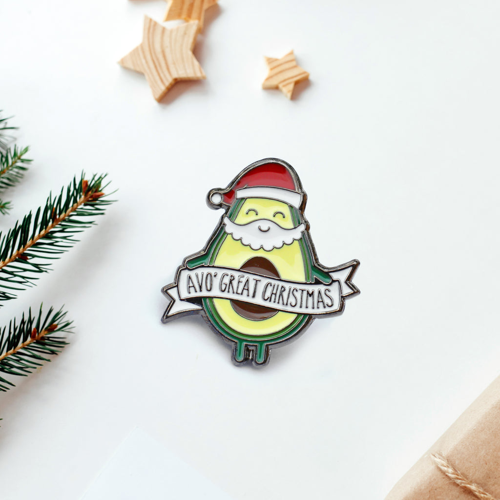 Enamel pin: Avo' Great Christmas