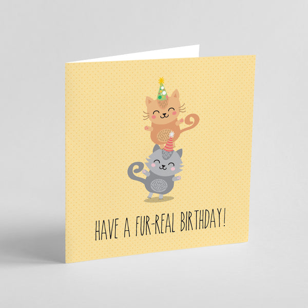 Birthday: Have a Fur-real birthday