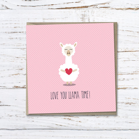 Love: Love you llama time