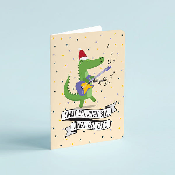 Christmas pun card  - Jingle bell rock