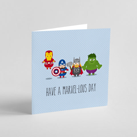 Birthday: Have a Marvel-lous day