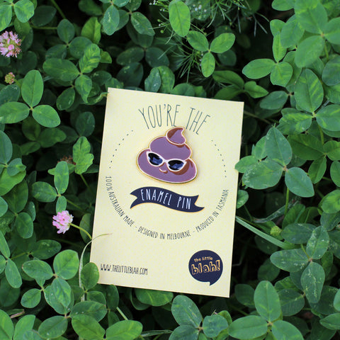 Enamel pin: Turd