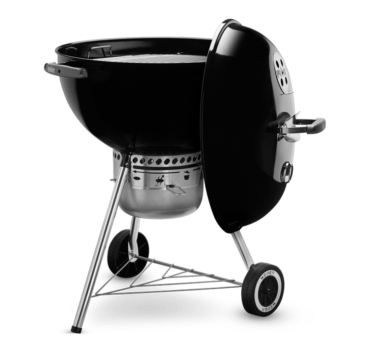 Weber Kettle Premium 22.5 inches Black Charcoal Grill BBQ Side Hong Kong