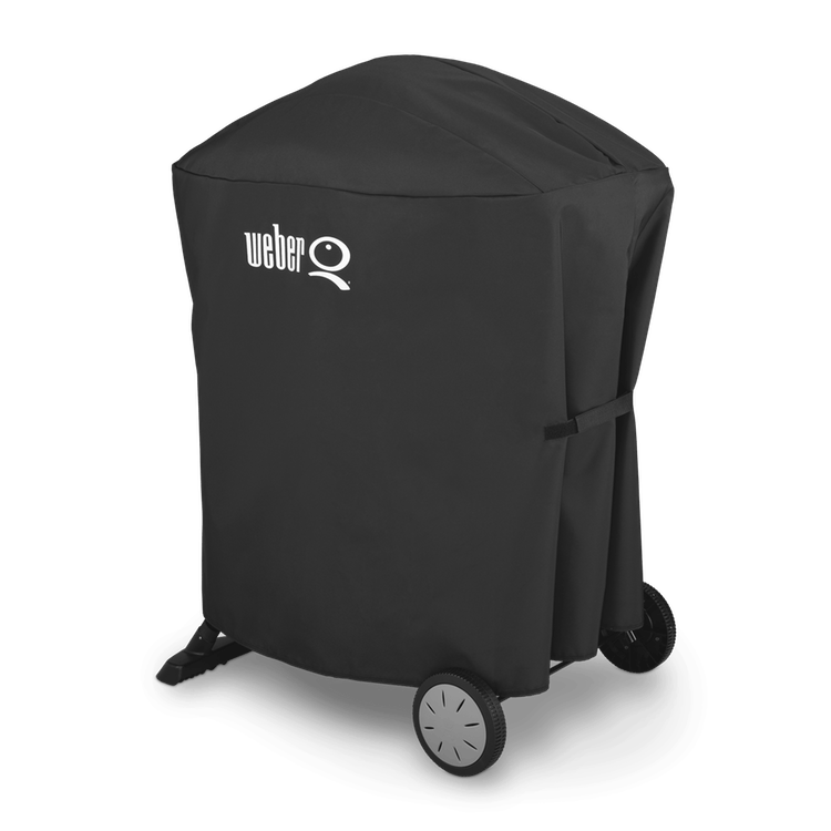 Weber Grill Cover - Q1200 or Q2200 w/ Portable Cart