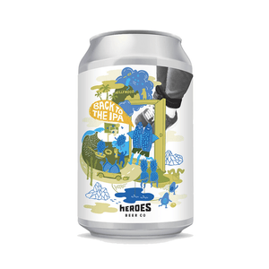 Heros Beer Co - HYGGE BROS - Session IPA - 48 cans