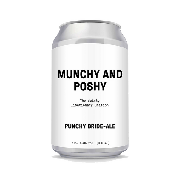 Heros Beer Co - MUNCHY AND POSHY - Fruit Beer - 48 cans