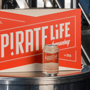 Pirate Life Throwback IPA - 48 cans
