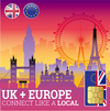 UK & European Travel SIM Cards