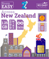 1.25GB - 4G New Zealand Travel Sim Card - 2 Degrees