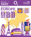 O2 UK - Big Bundle 1 - Europe Travel SIM