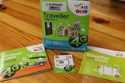 AIS Traveller SIM Card - So Easy Large Bundle Plan