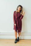 Renee Tie Dress | Long Sleeve