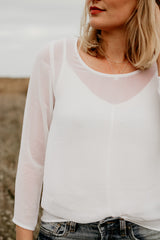 The Breya Crop- Long Sleeve