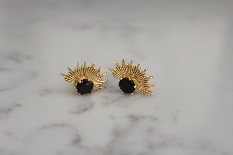 Solace Earrings | 18K Gold Plated |