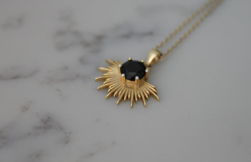 Solace Necklace | 18K Gold Plated |
