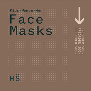 3 PACK OF MEN'S Cotton Reusable Face Masks- With $2 Donation to Woman's Refuge Safe Night