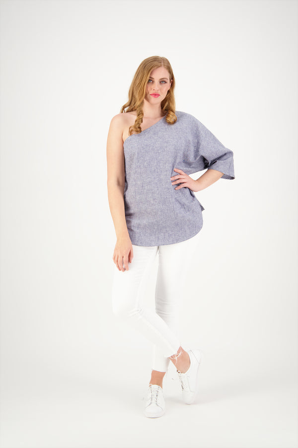 Bailey Top | Linen