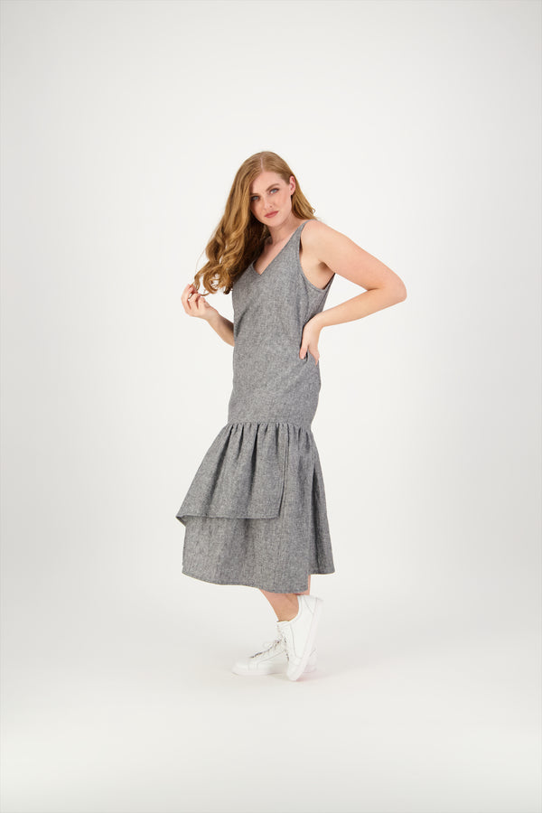 Cameron | Sleeveless  | Linen