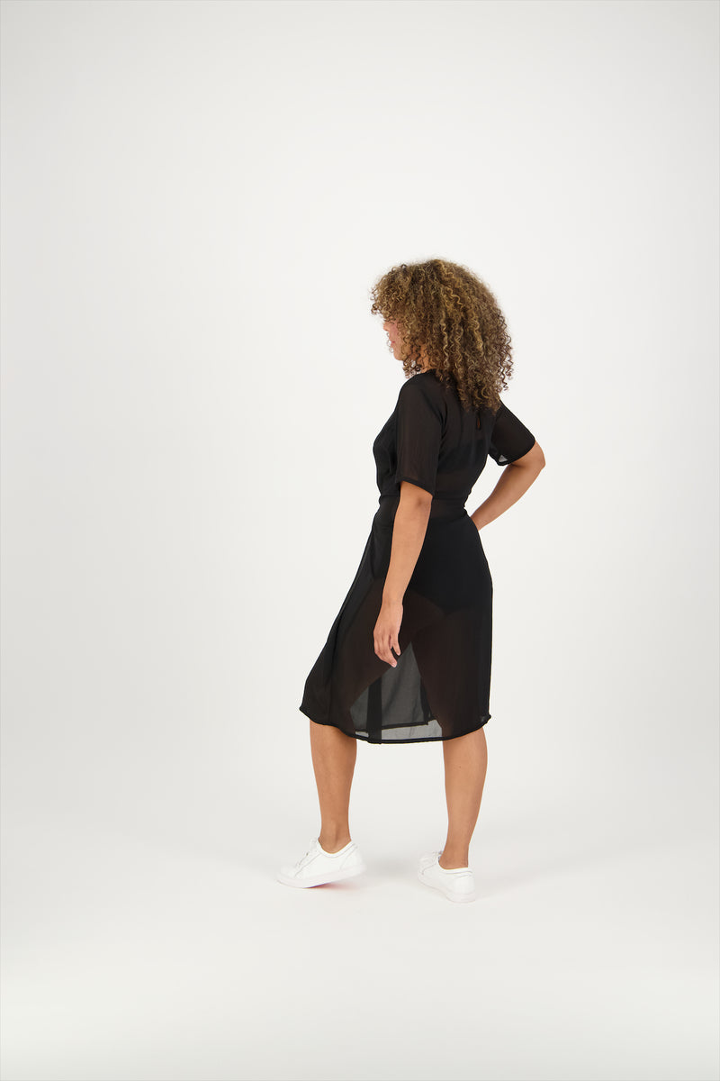 Renee Tie Dress | Short Sleeve