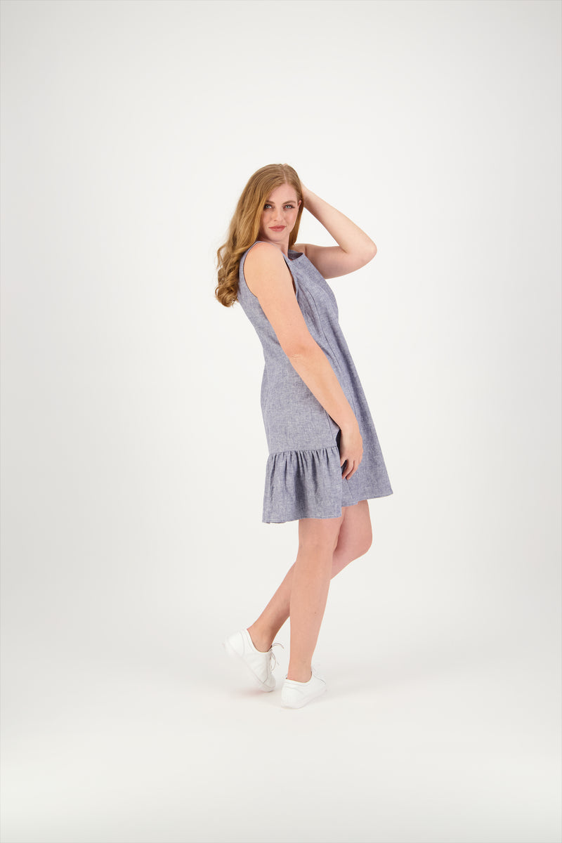 Riley Dress | Linen