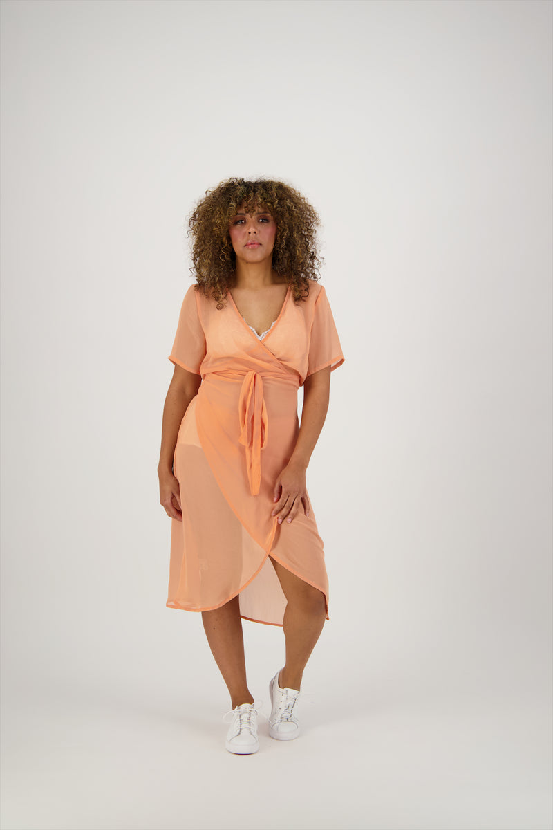 Lola Wrap Dress | Short Sleeve