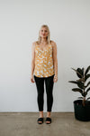 H&S Tank | Limited Print Yellow Bloom