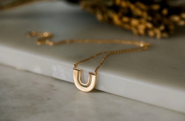 Zulu Necklace |18K  Gold Plated |