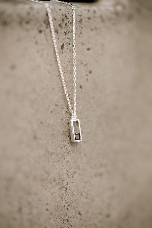 Realm Necklace | Sterling Silver |