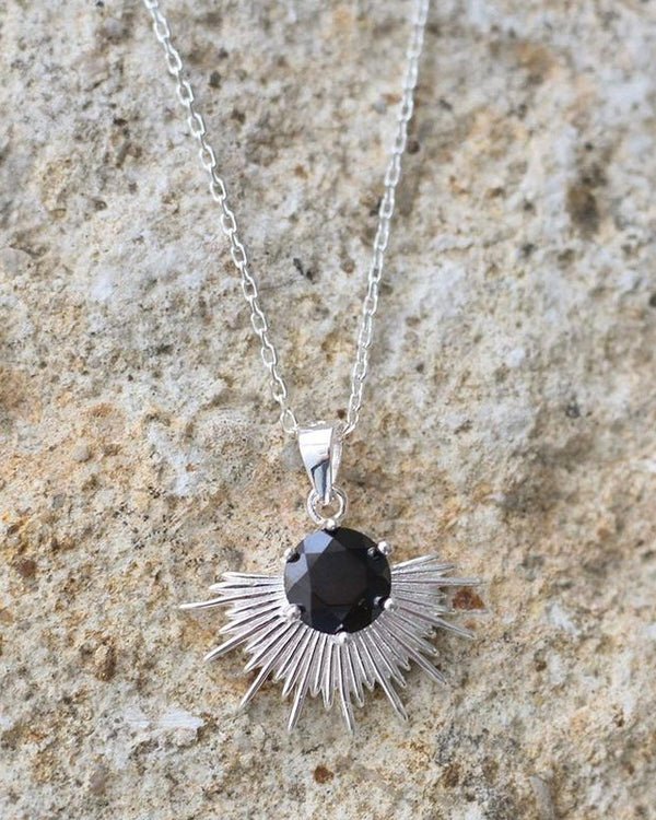 Solace Necklace | Sterling Silver |