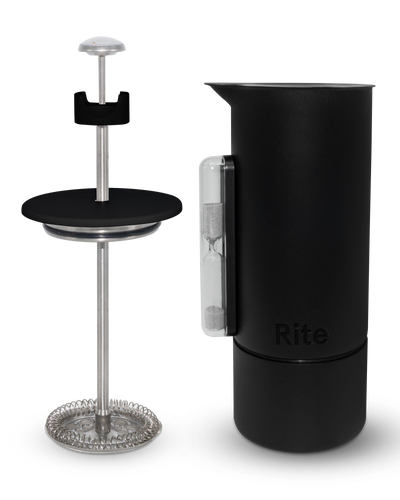 1/2 Liter Stainless Steel Rite Press Matte Black
