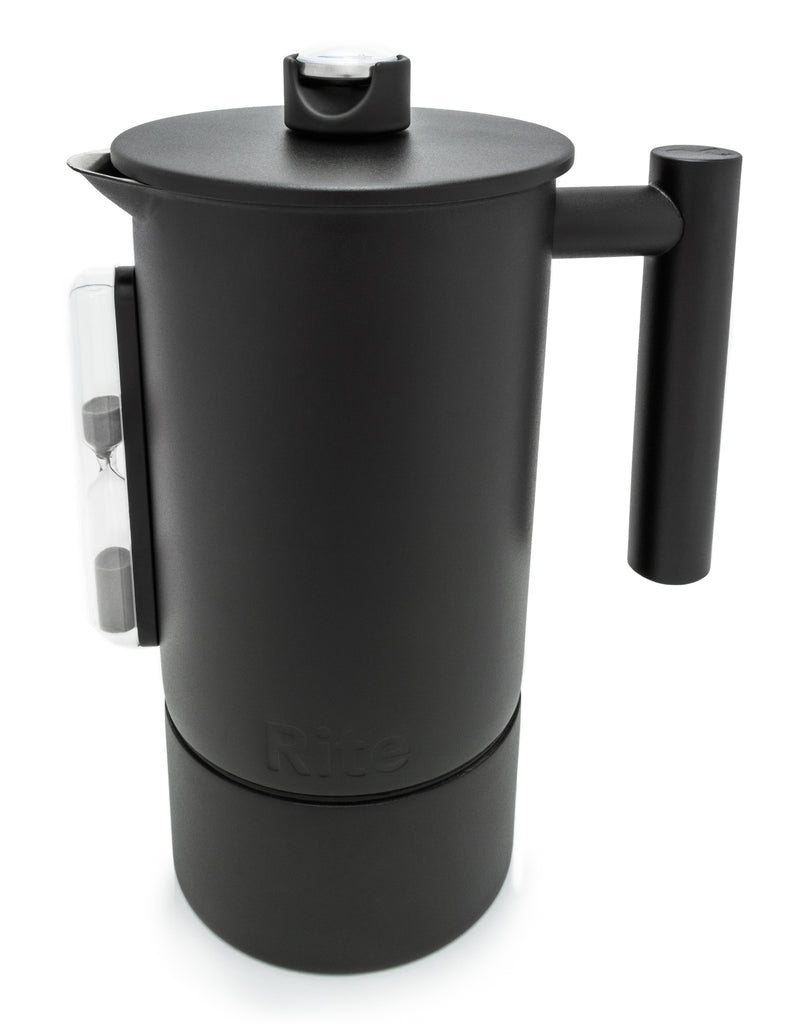 1 Liter Stainless Steel Rite Press Matte Black