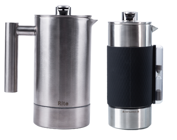 1 Liter and 1/2 Liter Stainless Steel Rite Press Bundle