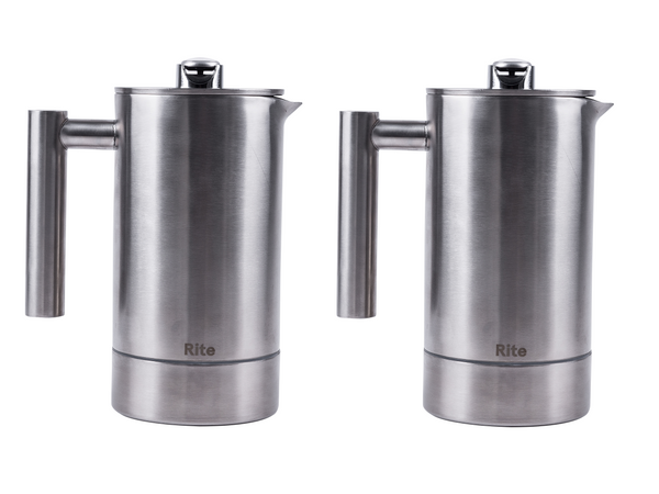 Two Pack - 1 Liter Stainless Steel Rite Press