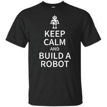 Youth Keep Calm And Build A Robot T-Shirt