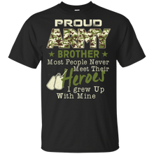 Youth Proud Army Brother T-Shirt