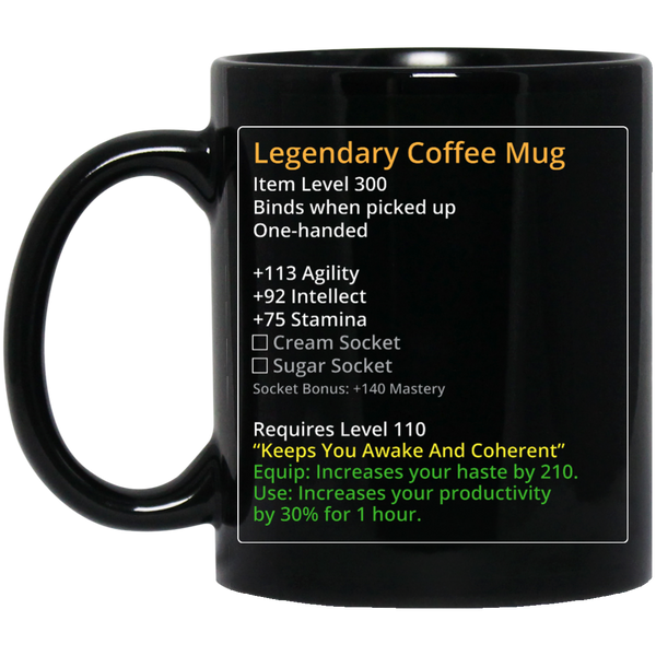 Legendary MMO Coffee Mug