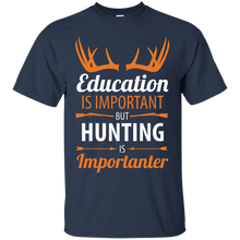 Unisex Education Is Important But Hunting Is Importanter Relaxed T-Shirt