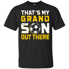 Unisex That's My Grandson Out There (Soccer) Relaxed T-Shirt