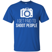 Unisex I Get Paid To Shoot People Relaxed T-Shirt